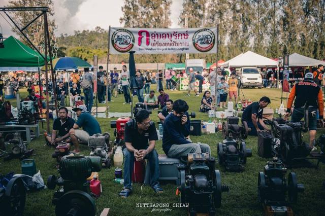 Tung bung le hoi VINTAGE BIKE THAILAND Festival 2018 quy tu hang van mau xe co dien - 17