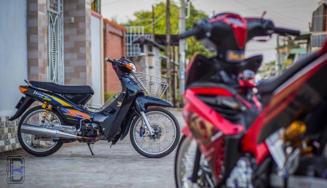 Wave 110 ban do day tam huyet cua biker Soc Trang