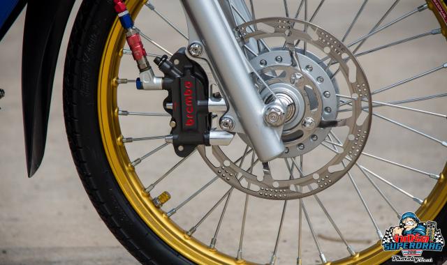 Wave 125 do dan chan Sexy de lai nhieu cam xuc do xe cho biker Viet - 5