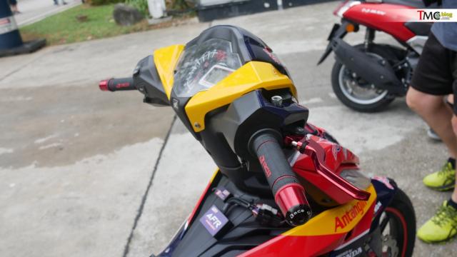 Winner 150 do sieu da theo phong cach Moto2 tai truong dua Malaysia - 9