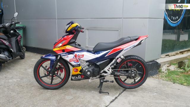 Winner 150 do sieu da theo phong cach Moto2 tai truong dua Malaysia - 16