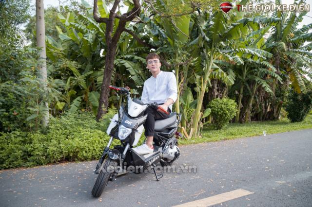 Xe dien Xman Yadea 1 phanh dia mau xe duoc ua chuong hien nay