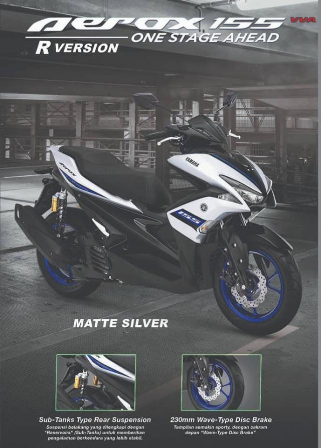 Yamaha Aerox 155 2019 bo sung sac mau moi ca tinh the thao - 3
