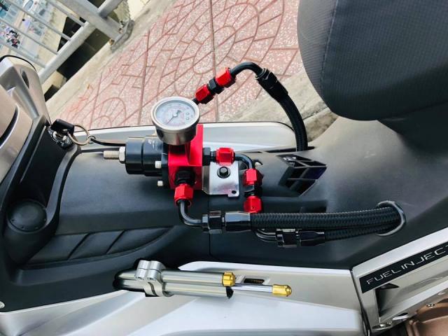 Yamaha Crypton X135 voi suc manh 62mm sieu khung