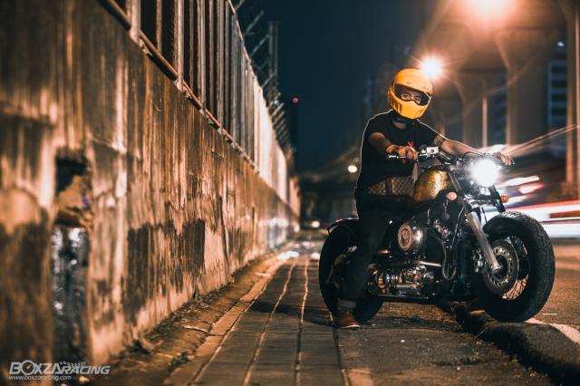 Yamaha Dragstar 400 sieu ngau va day ca tinh voi Style Bobber
