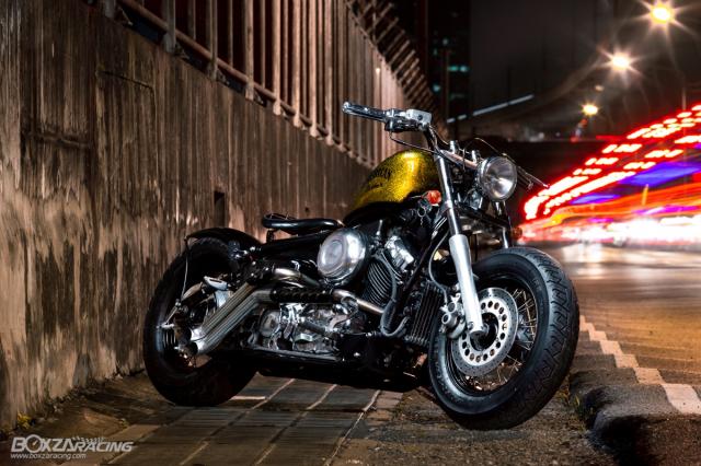 Yamaha Dragstar 400 sieu ngau va day ca tinh voi Style Bobber - 3