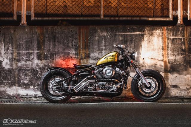 Yamaha Dragstar 400 sieu ngau va day ca tinh voi Style Bobber - 9