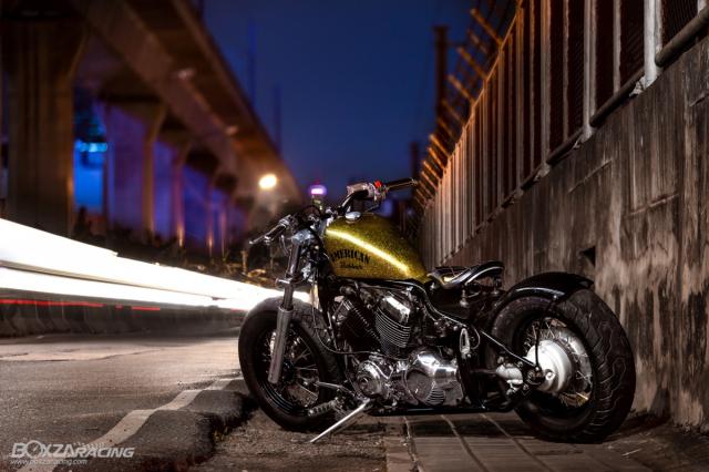 Yamaha Dragstar 400 sieu ngau va day ca tinh voi Style Bobber - 11