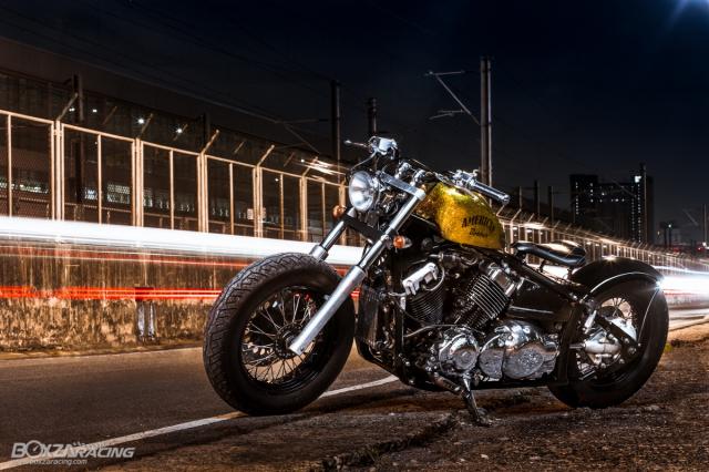 Yamaha Dragstar 400 sieu ngau va day ca tinh voi Style Bobber - 13