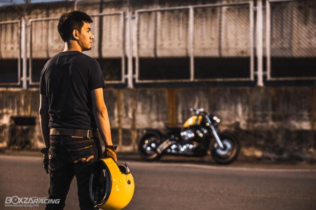 Yamaha Dragstar 400 sieu ngau va day ca tinh voi Style Bobber - 15