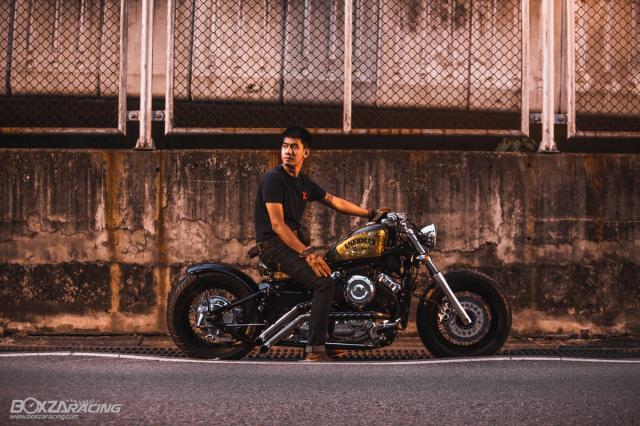 Yamaha Dragstar 400 sieu ngau va day ca tinh voi Style Bobber - 17