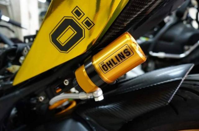 Yamaha R3 gay chu y voi phong cach Vang Chrome - 6