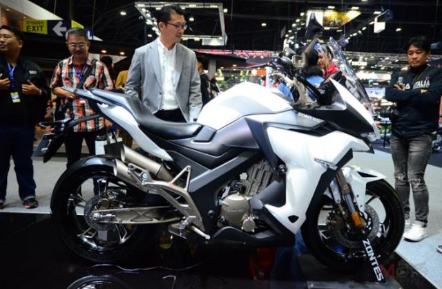 Zontes X310 R310 duoc gioi thieu voi gia chinh thuc tu 91 trieu VND tai Motor Expo 2018 - 8