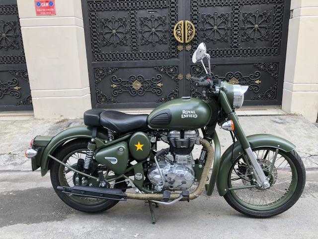 __Can Ban Xe Royal Enfield Classic 500cc Ban dat biet mau xanh quan doi mac hon mau thuong HQCN - 2