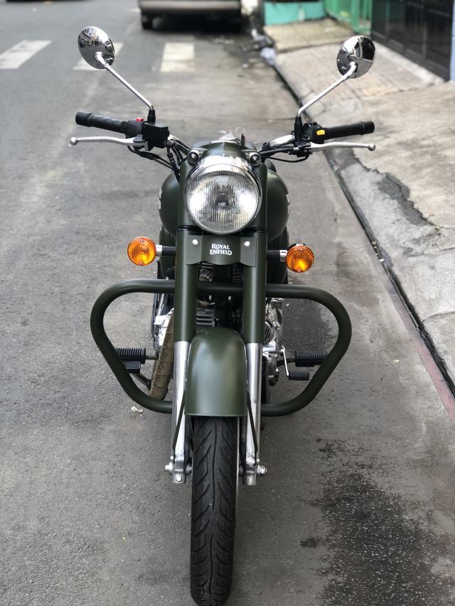 __Can Ban Xe Royal Enfield Classic 500cc Ban dat biet mau xanh quan doi mac hon mau thuong HQCN - 3