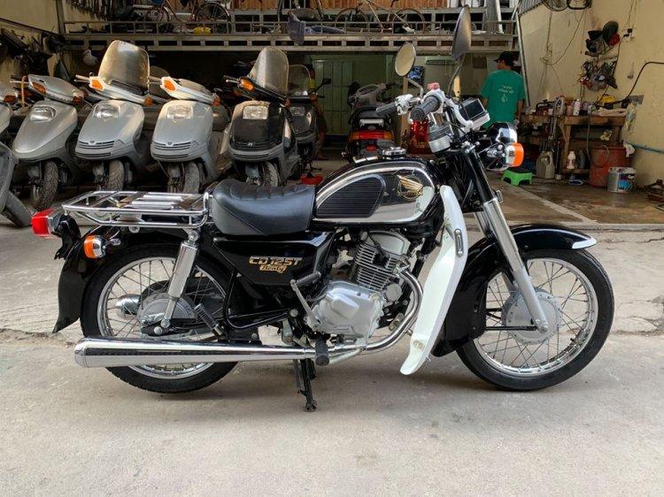 Ban Honda CD125cc042002Xe co Hoang Tu Den Cuc Dep