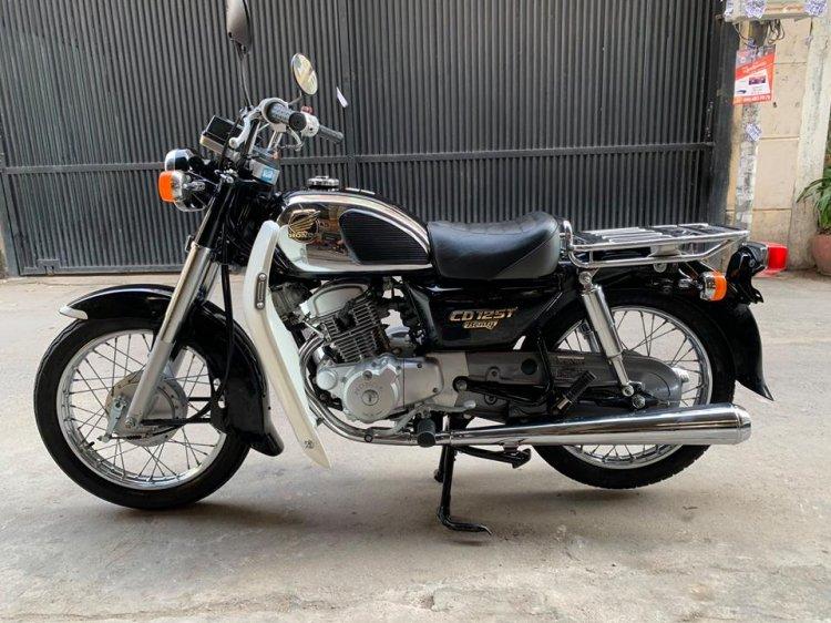 Ban Honda CD125cc042002Xe co Hoang Tu Den Cuc Dep - 3