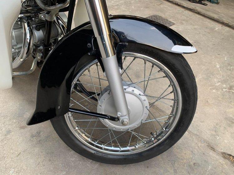 Ban Honda CD125cc042002Xe co Hoang Tu Den Cuc Dep - 4