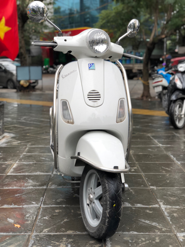 Ban Vespa LX125 chau au Xe Hai Quan 2008 Trang gia 18tr chinh chu gd di giu rat moi - 6