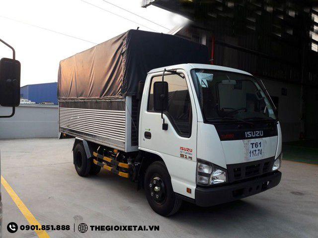 Ban xe tai Isuzu 1T4 thung bat QKR55F bao hanh chinh hang - 3