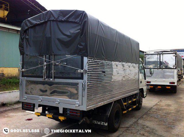 Ban xe tai Isuzu 1T4 thung bat QKR55F bao hanh chinh hang - 2