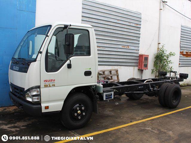 Cua hang ban xe tai ISUZU 149 tan thung kin QKR55F dam bao chinh hang uy tin - 5