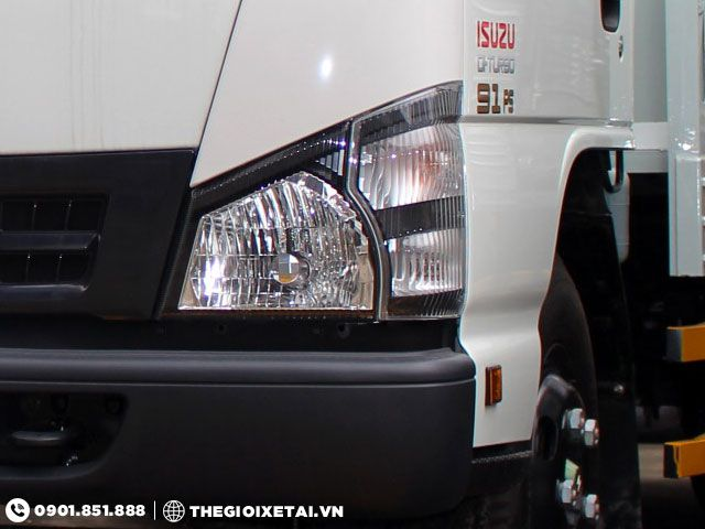 Cua hang ban xe tai ISUZU 149 tan thung kin QKR55F dam bao chinh hang uy tin - 4