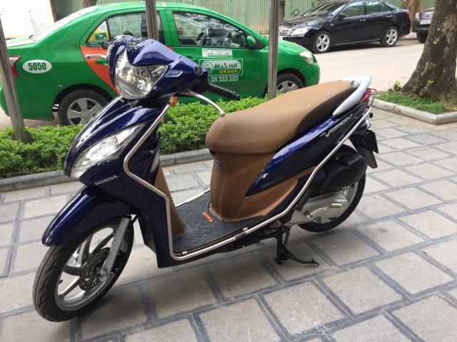 Can ban Honda Vision fi 2014 xanh tim con rat moi chinh chu nha su dung bien Hn - 3