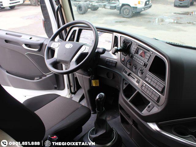 Can ban xe ben Hyundai Xcient 15 tan thung hang the tich 10m3 gia uu dai - 7
