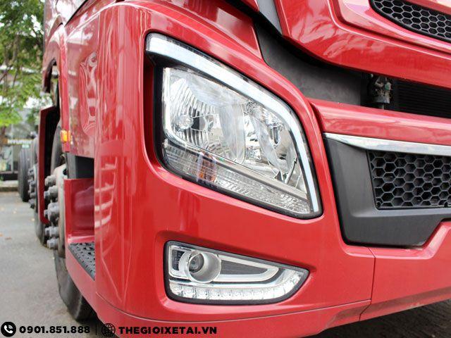 Can ban xe ben Hyundai Xcient 15 tan thung hang the tich 10m3 gia uu dai - 4
