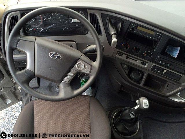 Can ban xe ben Hyundai Xcient 15 tan thung hang the tich 10m3 gia uu dai - 8