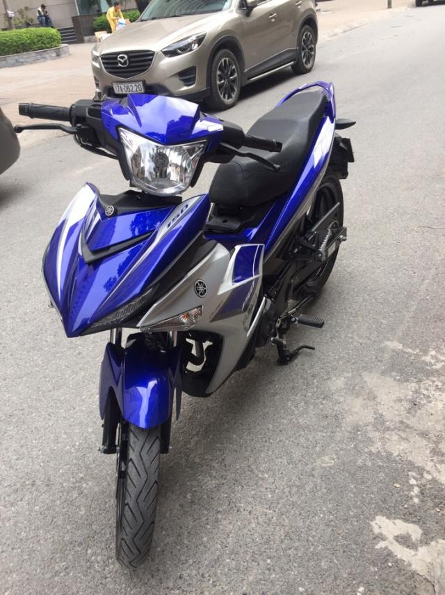 Can ban Yamaha Exciter150 Fi xanh GP 2016 moi chinh chu - 4