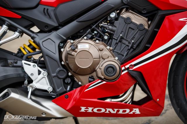 Can canh chi tiet Honda CBR650R 2019 voi thiet ke moi lam sieu long nguoi ham ho - 10