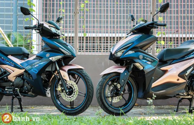 Yamaha Exciter 150 NVX 155 phien ban Doxou Trao luu xe thoi trang moi cua gioi tre 2019 - 3
