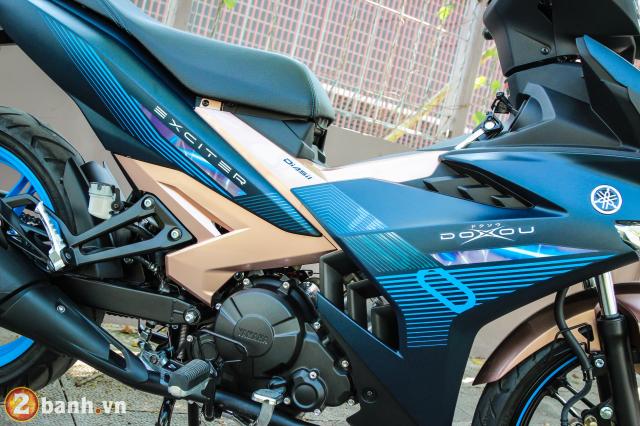 Yamaha Exciter 150 NVX 155 phien ban Doxou Trao luu xe thoi trang moi cua gioi tre 2019 - 5