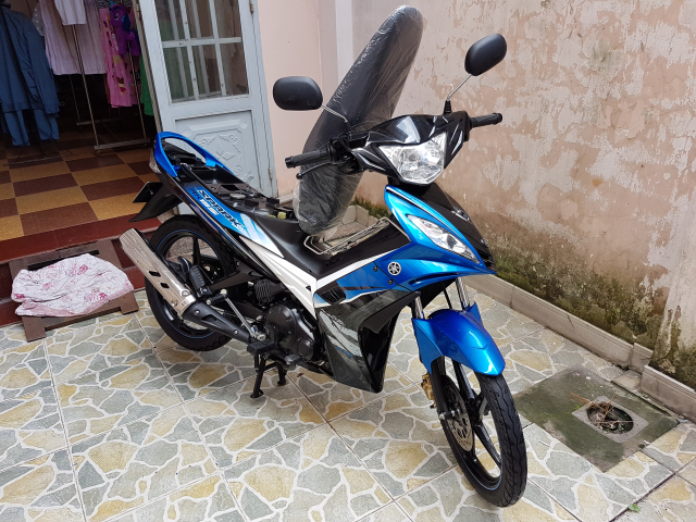 Can tien thanh ly nhanh chiec yamaha spark 135 xe hqcn