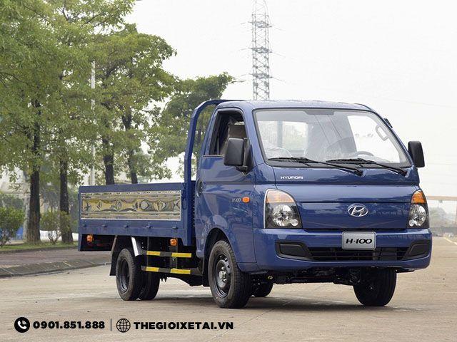 Chuyen ban xe tai Hyundai 1T25 thung lung H100 ho tro tra gop