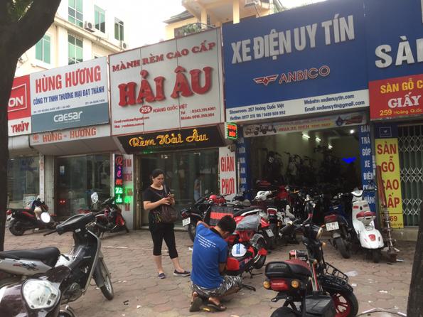 Cua hang thay ac quy xe dap dien tai Cau Giay Ha Noi - 2