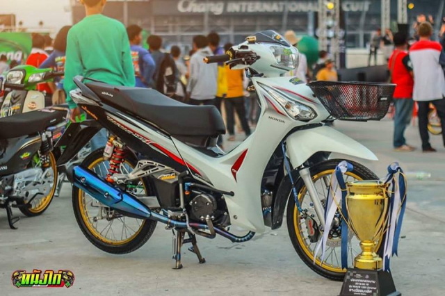 Future 125 do king of doat giai xe dep cua dan choi Thai - 11