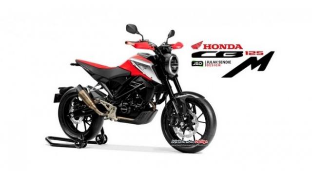Honda CB125M lo dien hinh anh thiet ke hoan toan moi