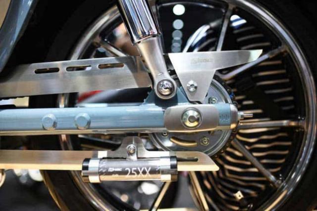 Honda Super Cub 125 Monkey ra mat phien ban gioi han so huu option do choi KHUNG - 6
