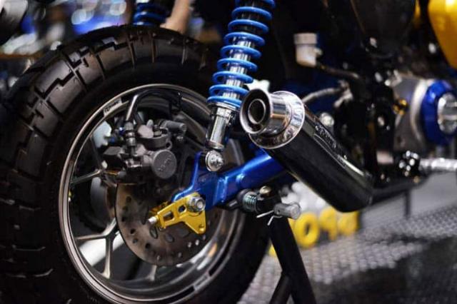 Honda Super Cub 125 Monkey ra mat phien ban gioi han so huu option do choi KHUNG - 10