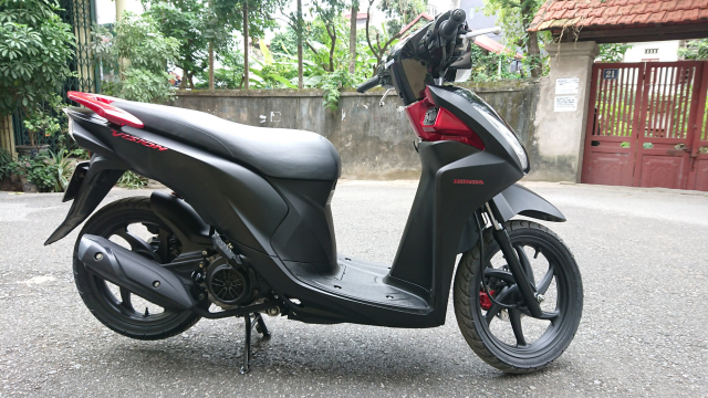 Honda Vision fi 2016 Black den mo di 7000km chinh chu HN 29tr700 - 5