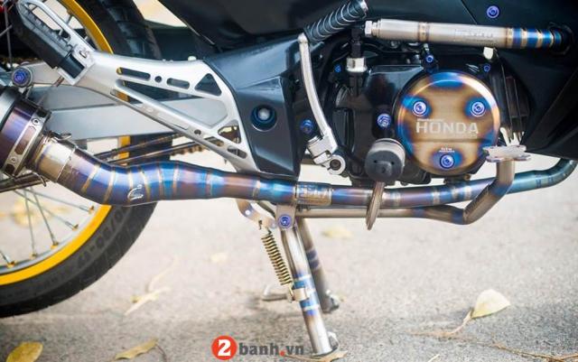 Honda Wave do dan chan Titan ngau ngoai suc tuong tuong - 7