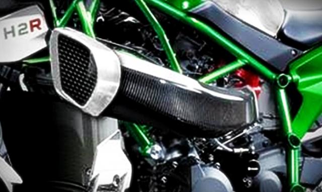 Kawasaki H2n Concept lo dien hinh anh thiet ke dua tren co so Ninja H2R - 4