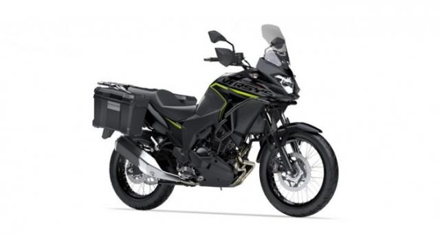 Kawasaki Versys X250 2019 duoc ra mat voi mau sac moi Any Road Any Time