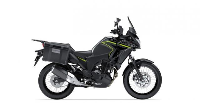 Kawasaki Versys X250 2019 duoc ra mat voi mau sac moi Any Road Any Time - 2