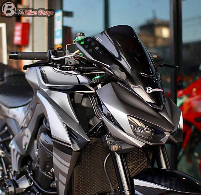 Kawasaki Z1000 nang cap khac biet den tu TT Bigbike Design