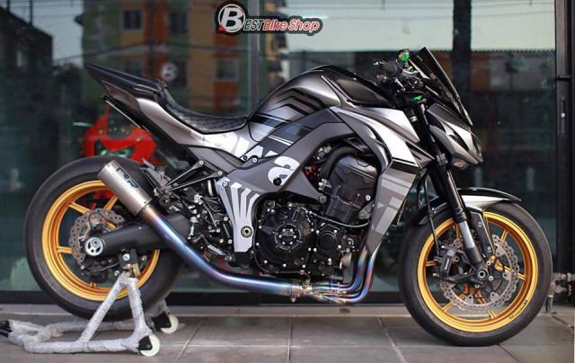 Kawasaki Z1000 nang cap khac biet den tu TT Bigbike Design - 15