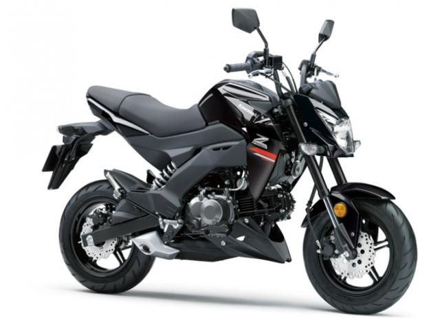 Kawasaki Z125 Pro 2019 ra mat voi phien ban tem moi day ca tinh - 3
